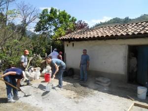 Building latrine