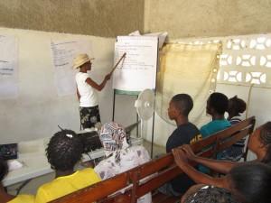 Haiti comm training