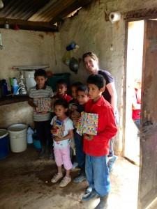 Jen in Honduras