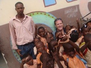 Randy in Haiti