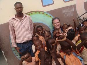 Randy in Haiti