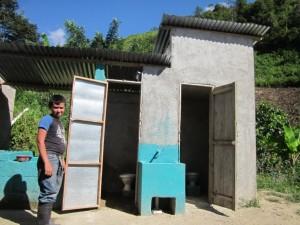 School latrine and WASH in San Ramon