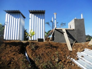 School latrines and wash station
