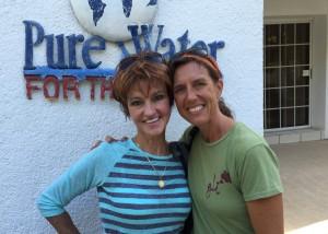 Susan and Nathalie