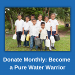 Monthly Donor - Pure Water Warrior